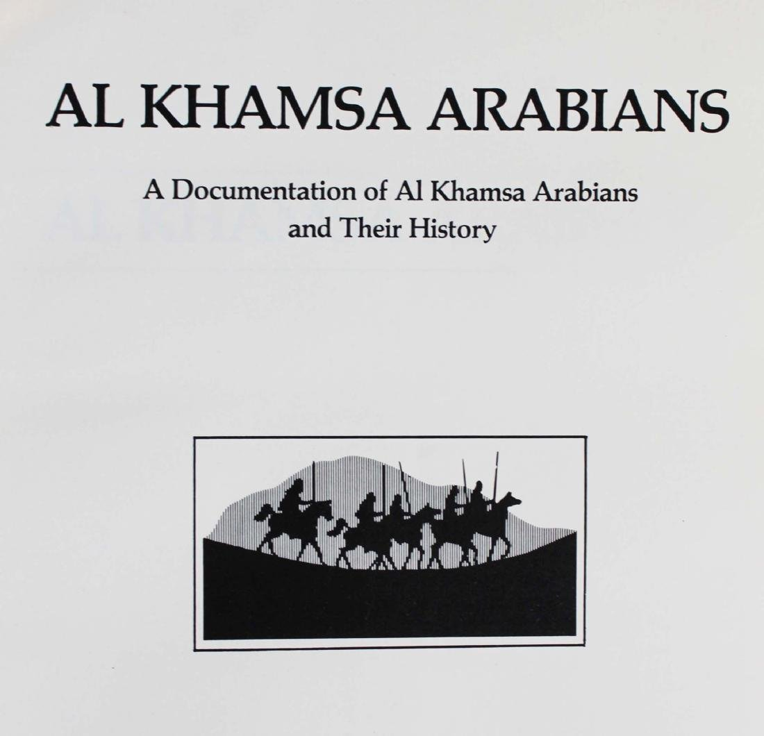 three reference books on Arabian horses - 3