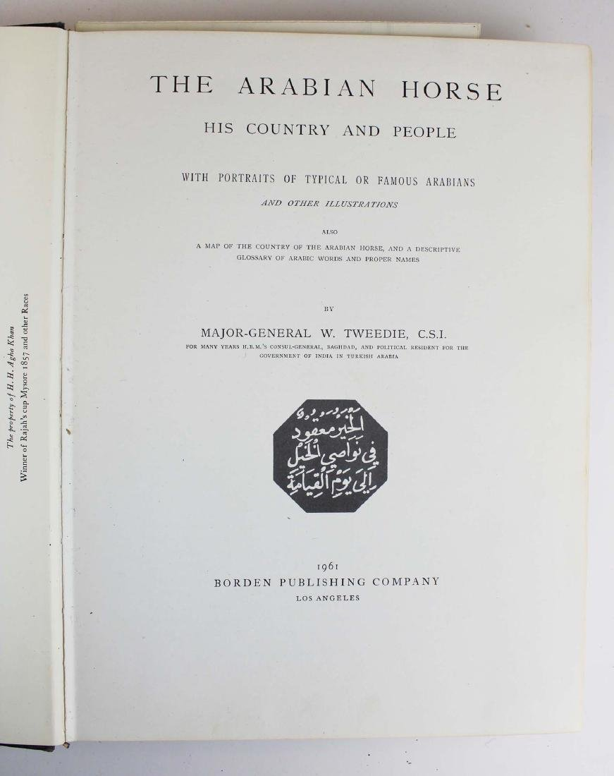 three reference books on Arabian horses - 4