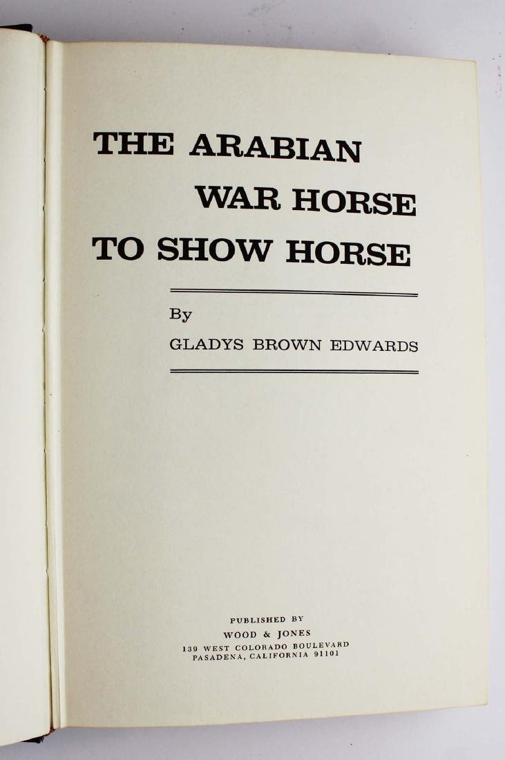 seven books on Arabian horses - 10