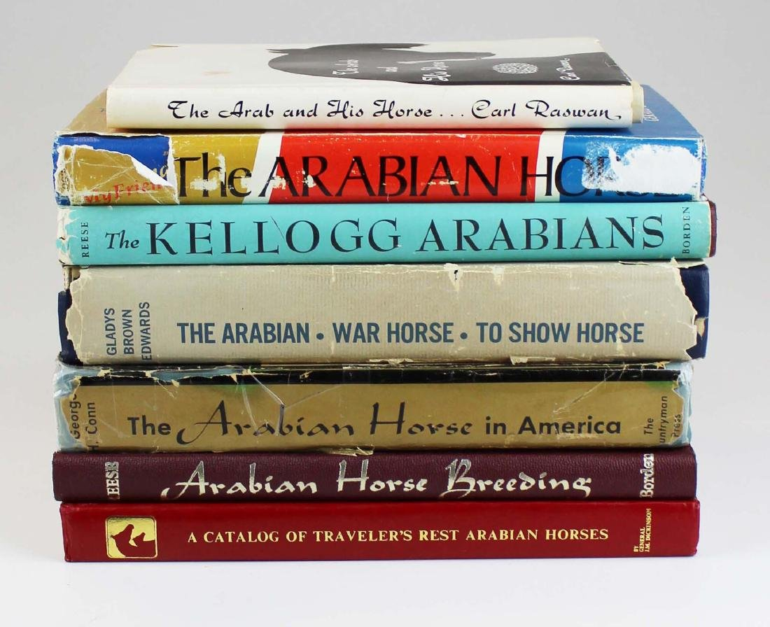 seven books on Arabian horses