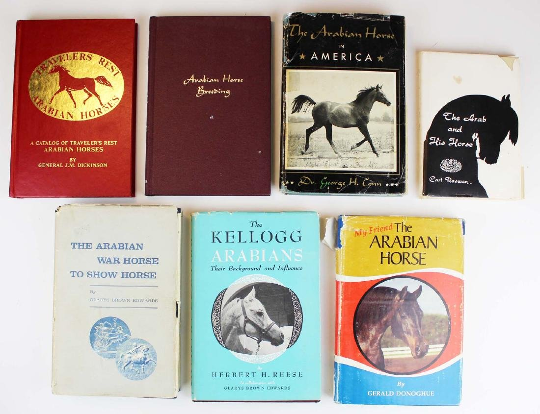 seven books on Arabian horses - 2