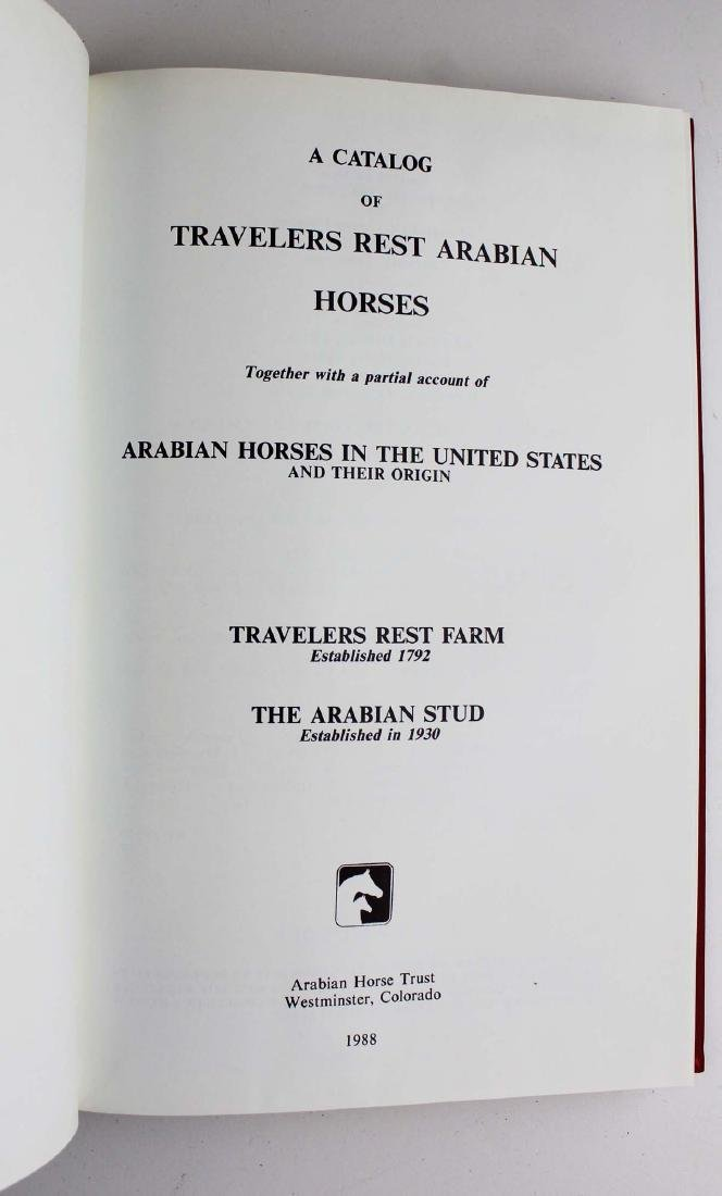 seven books on Arabian horses - 7