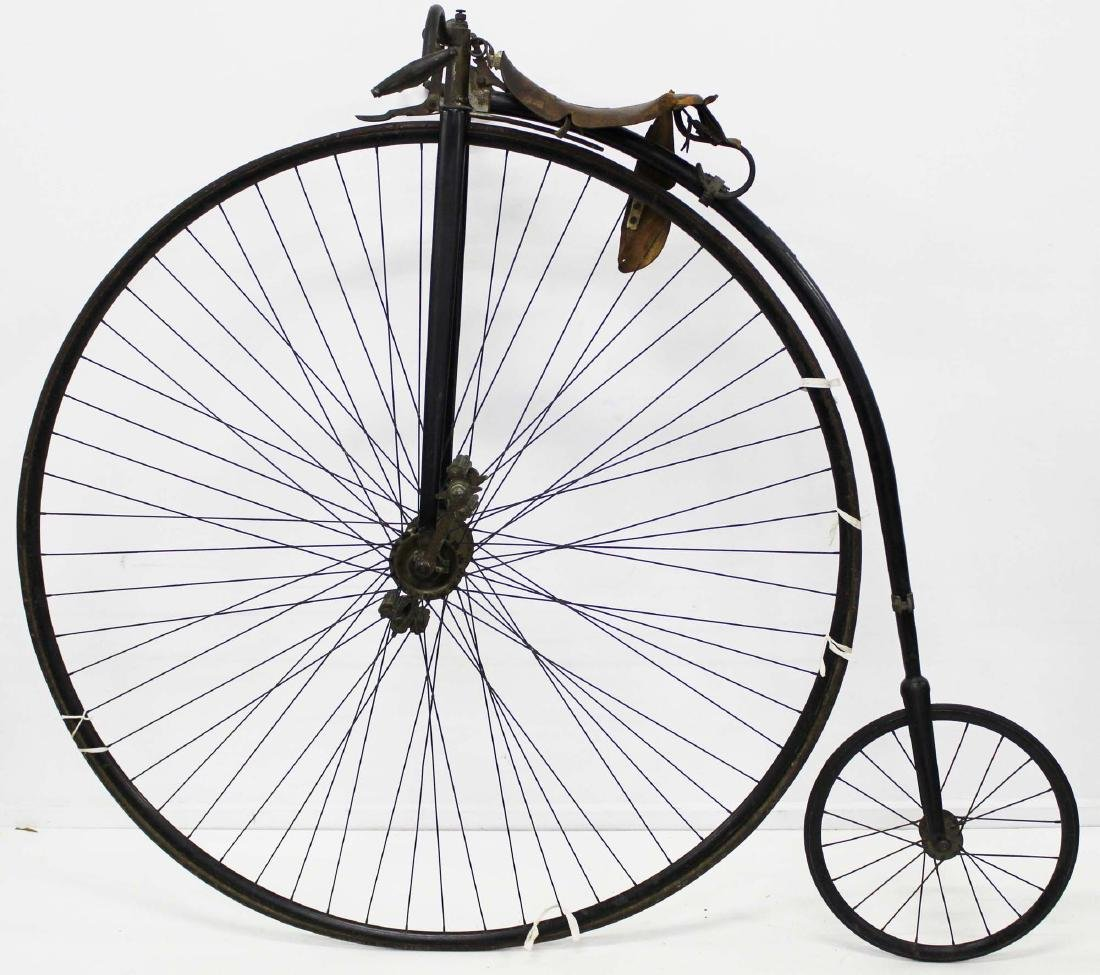 "Circa 1885 The Rudge- ""Penny Farthing"" bicycle"