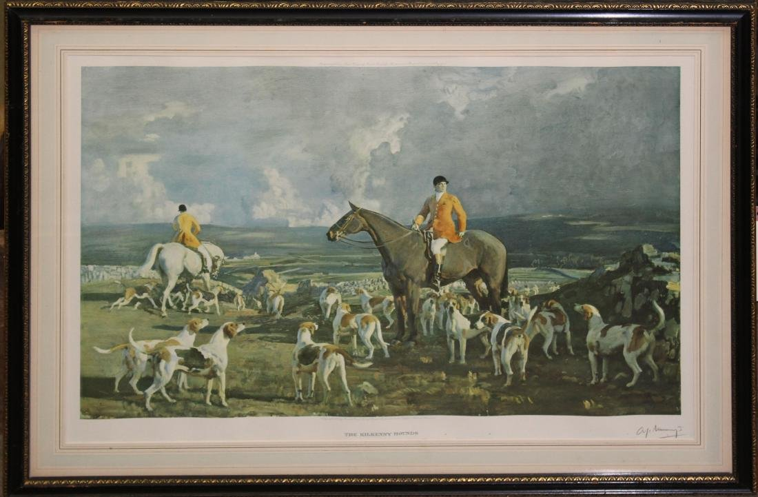 Alfred J Munnings (EN 1878-) The Kilkenny Hounds
