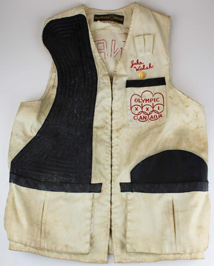 21st Winter Olympics shooter's jacket