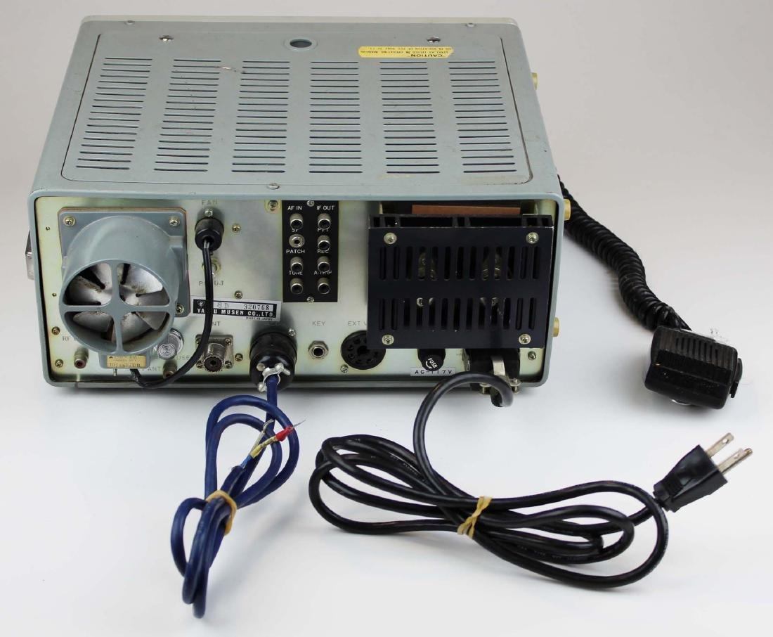 vintage Yaesu FT-101E SSB radio transceiver - 4