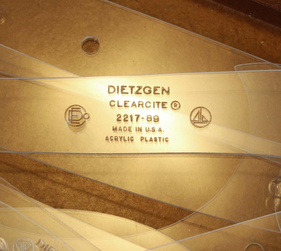 vintage Dietzgen set of Copenhagen ship curves - 4