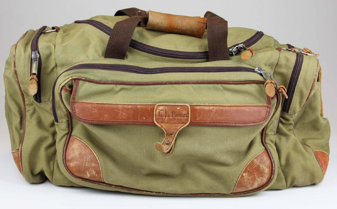 vintage L.L.Bean wingshooter's gear bag