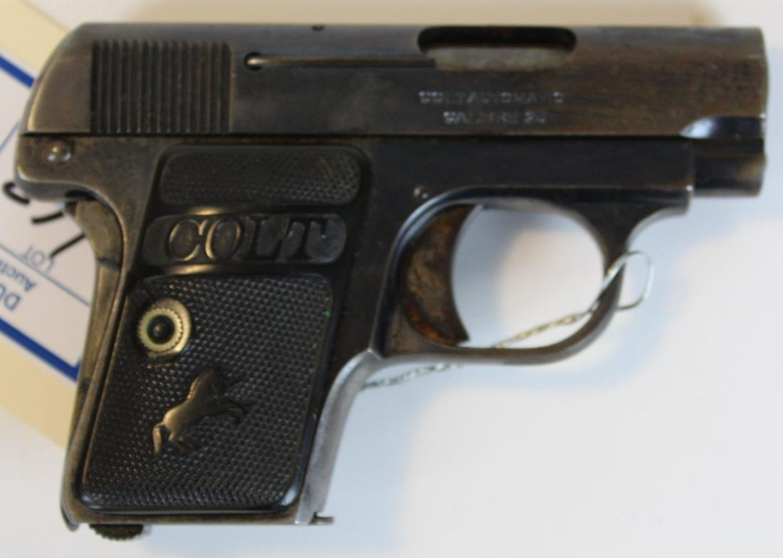 Colt Automatic in .25