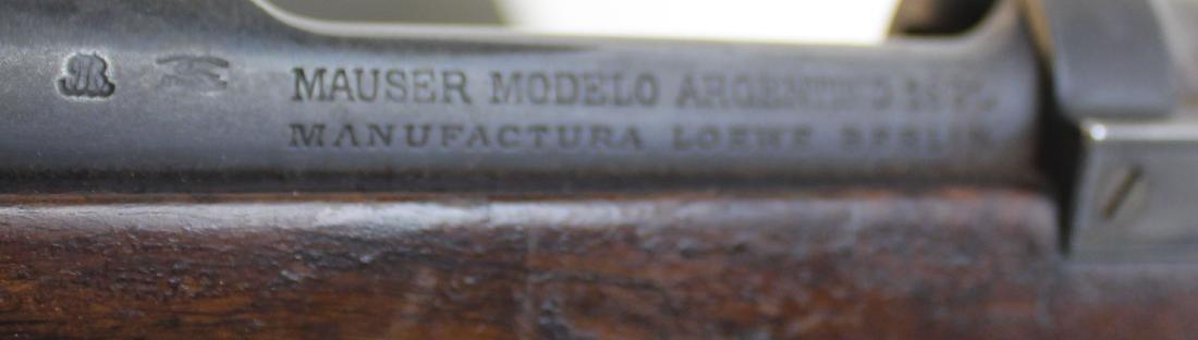 Argentine Mauser Model of 1891 - 3