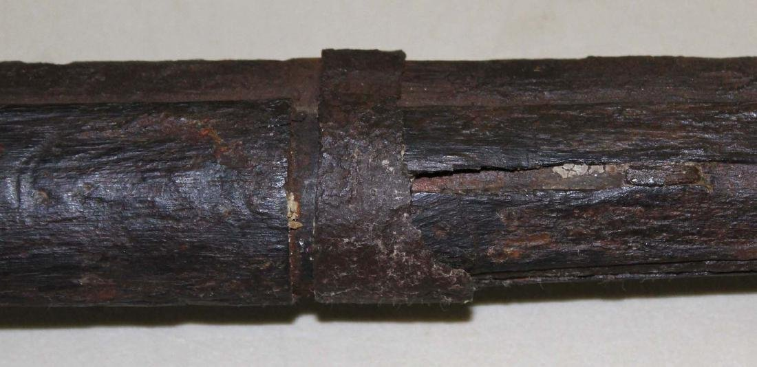 US Springfield musket as found - 3