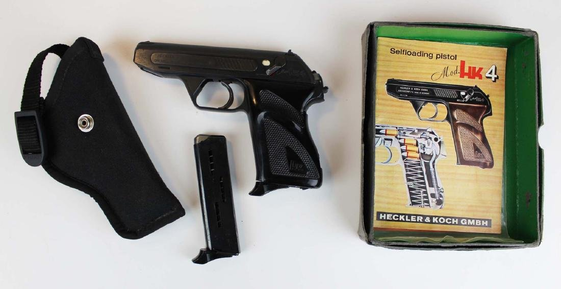 Heckler and Koch HK4 Pistol- DAMAGED - 2