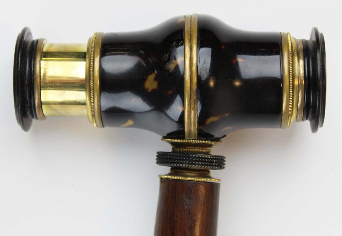 19th c Metamorphic telescope cane - 3