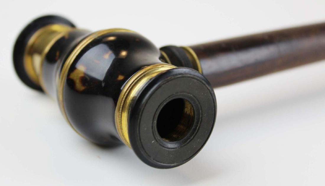 19th c Metamorphic telescope cane - 6