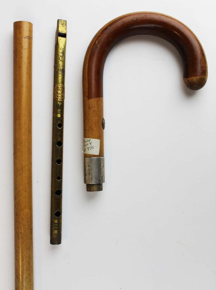 Saks & Co London Gadget cane with flute