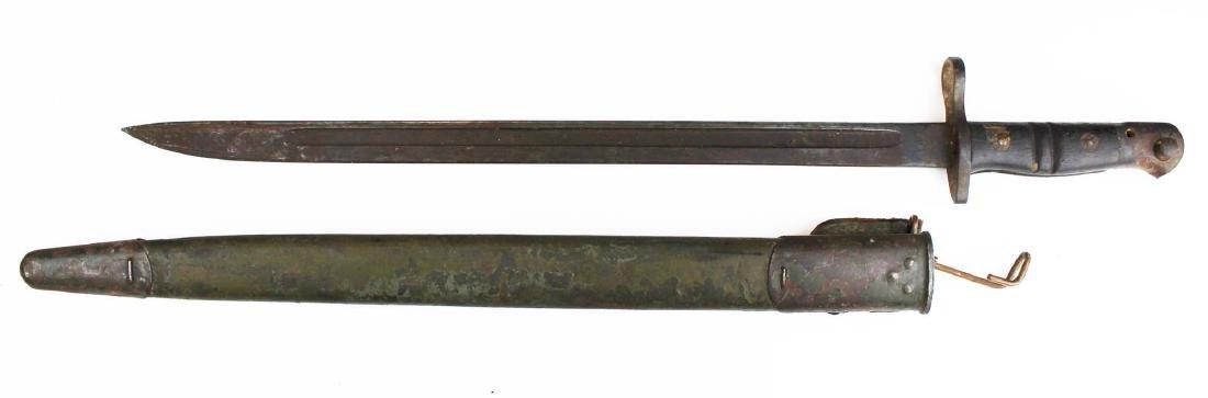 1917 US Remington bayonet w/ scabbard