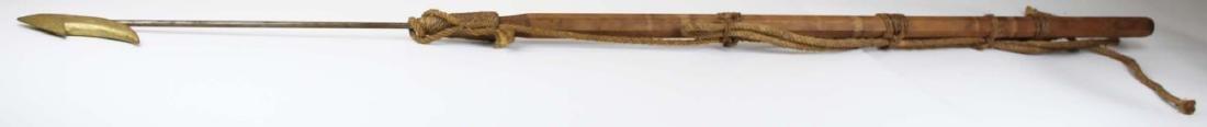 mid 20th c souvenir whaling harpoon
