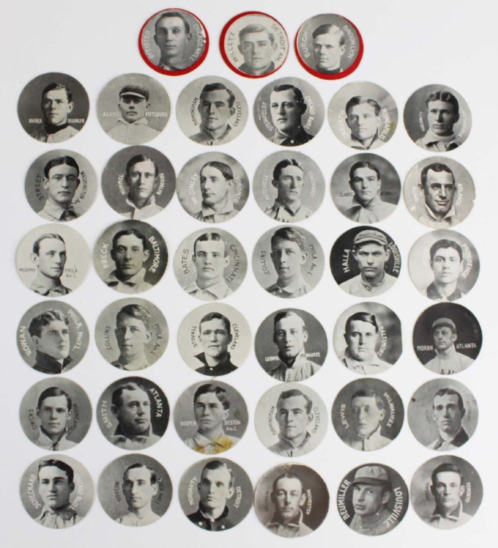 ca 1909 Colgan's Stars of the Diamond cards