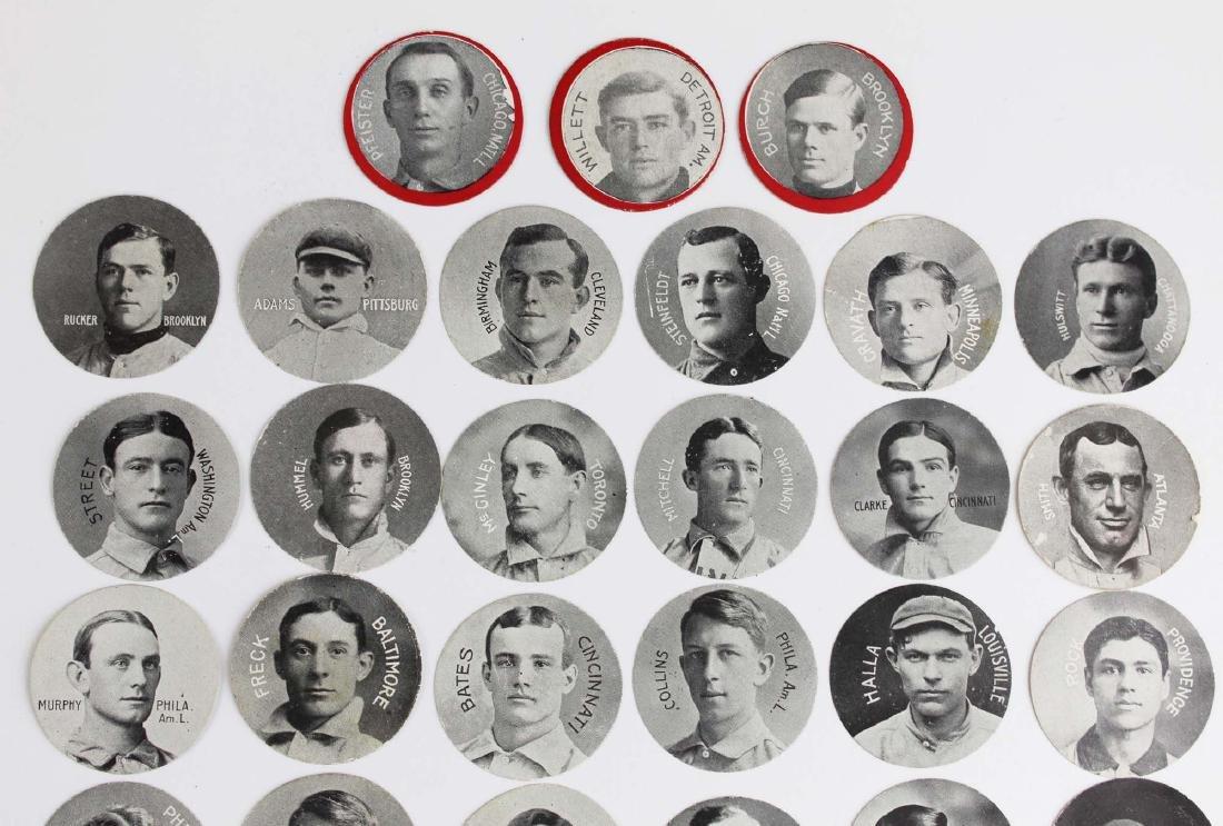 ca 1909 Colgan's Stars of the Diamond cards - 2