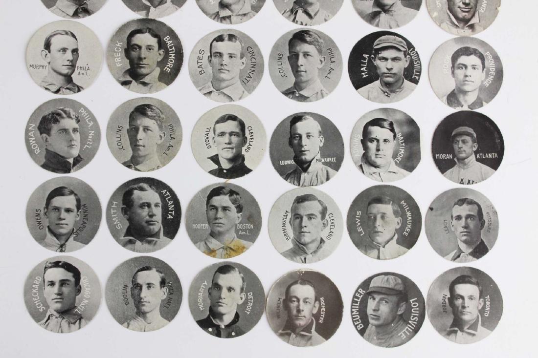 ca 1909 Colgan's Stars of the Diamond cards - 3
