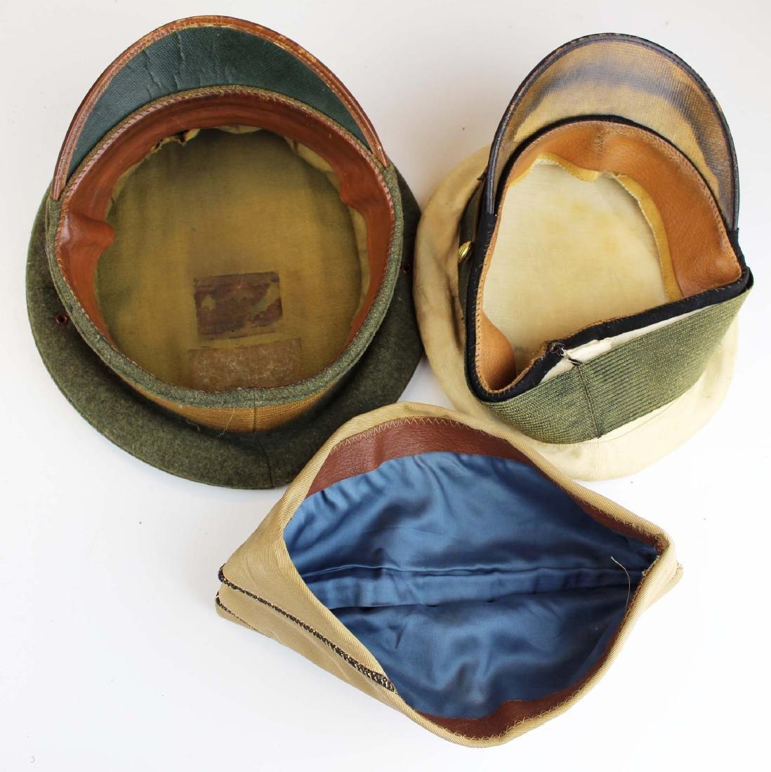 US Navy visor caps, badge, photos, etc. - 9