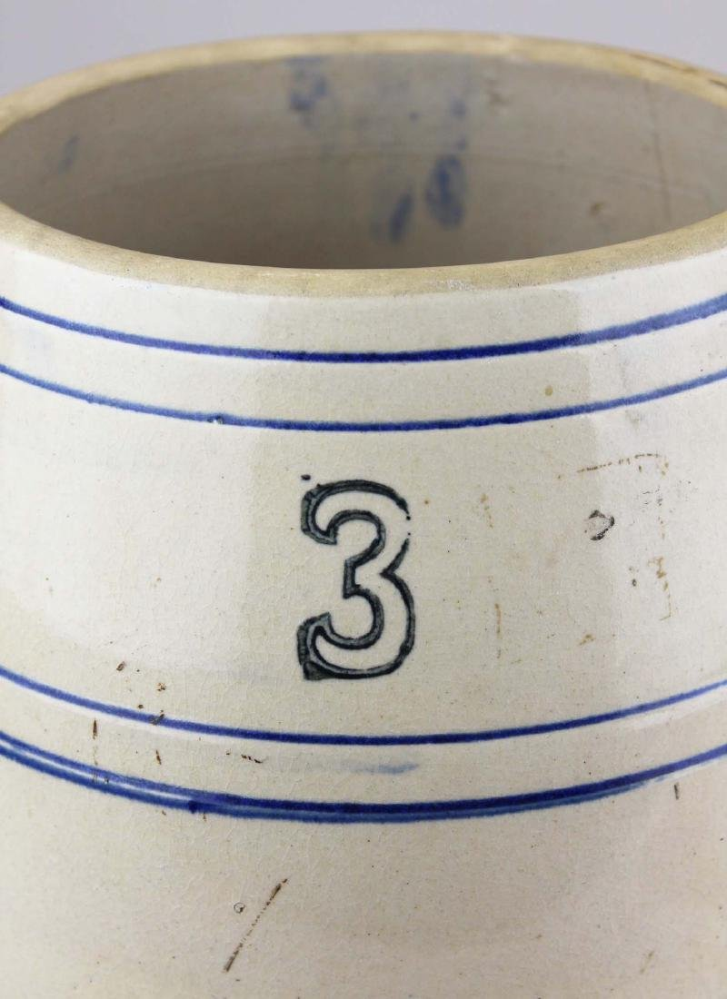early 20th c stoneware water cooler - 2