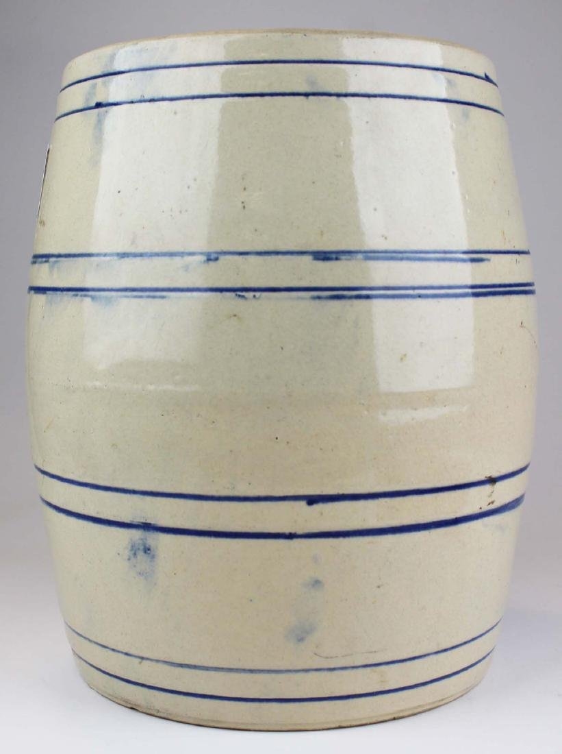 early 20th c stoneware water cooler - 4