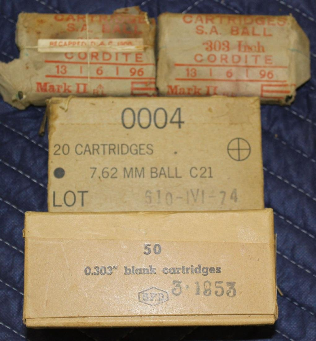 Two WWI Era packages of .303 British