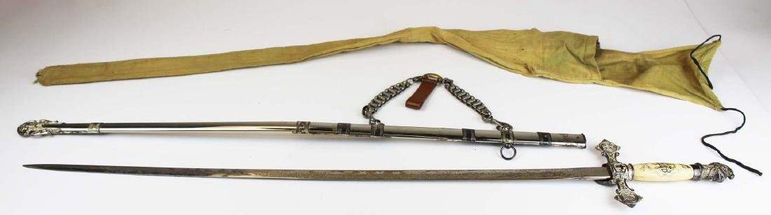 ca 1900 Masonic Scottish Rite fraternal sword