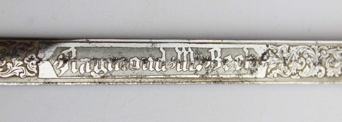ca 1900 Masonic Scottish Rite fraternal sword - 7