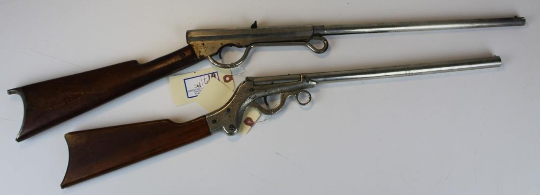 Pair of early Spring loaded pellet guns
