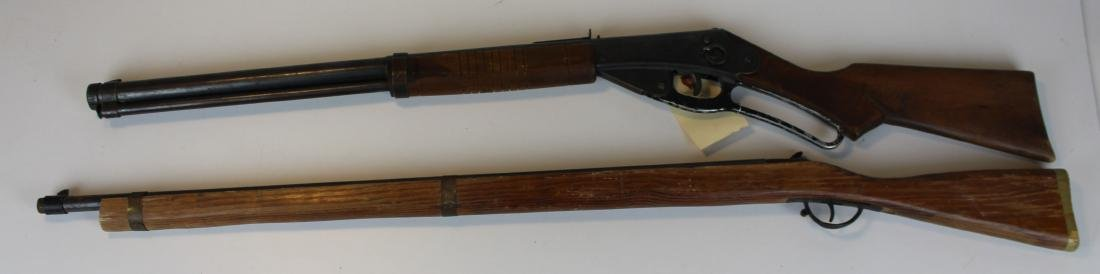 Daisy Red Rider Pellet gun, and Toy Musket