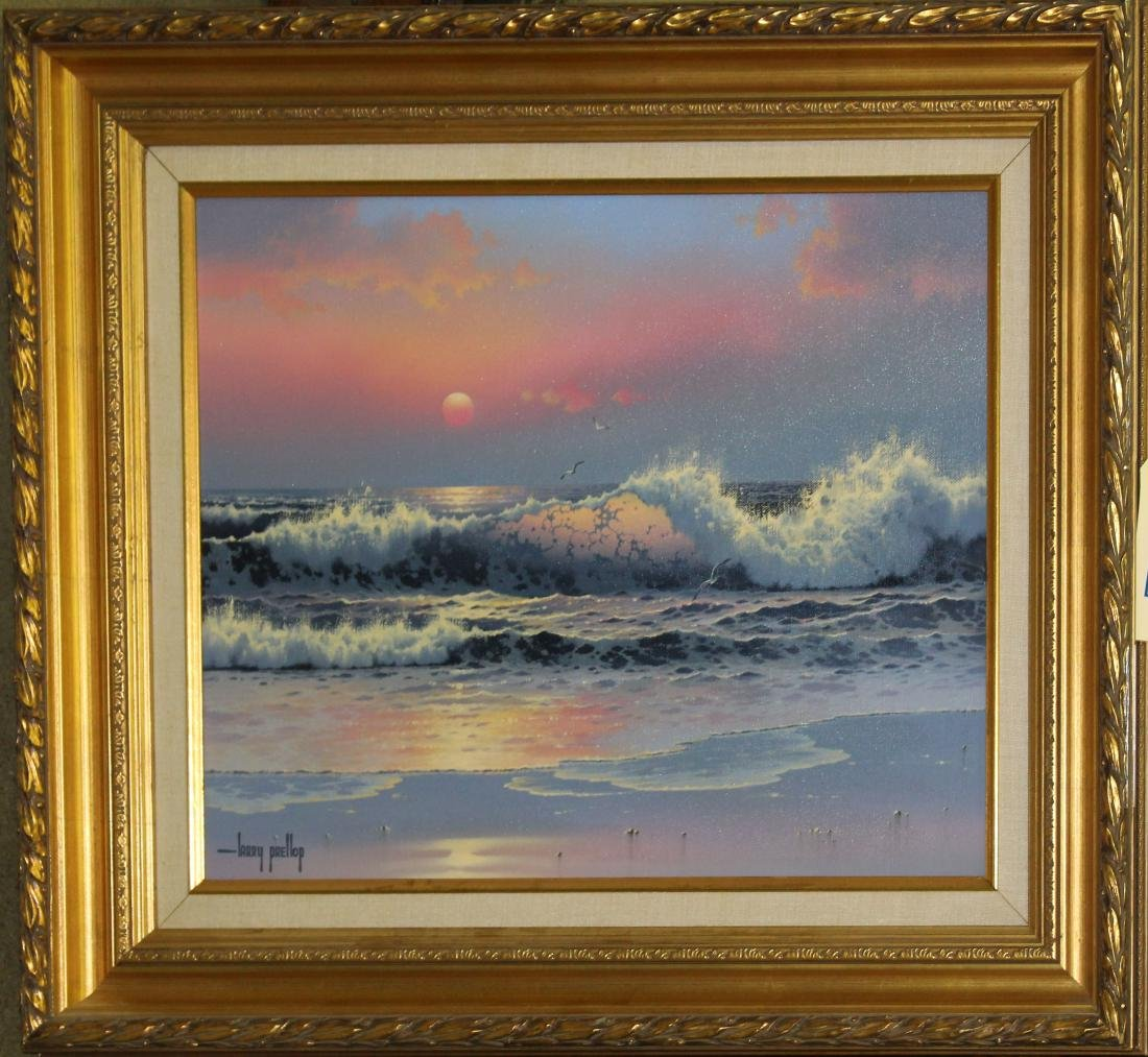 OC Seascape signed Larry Prellop