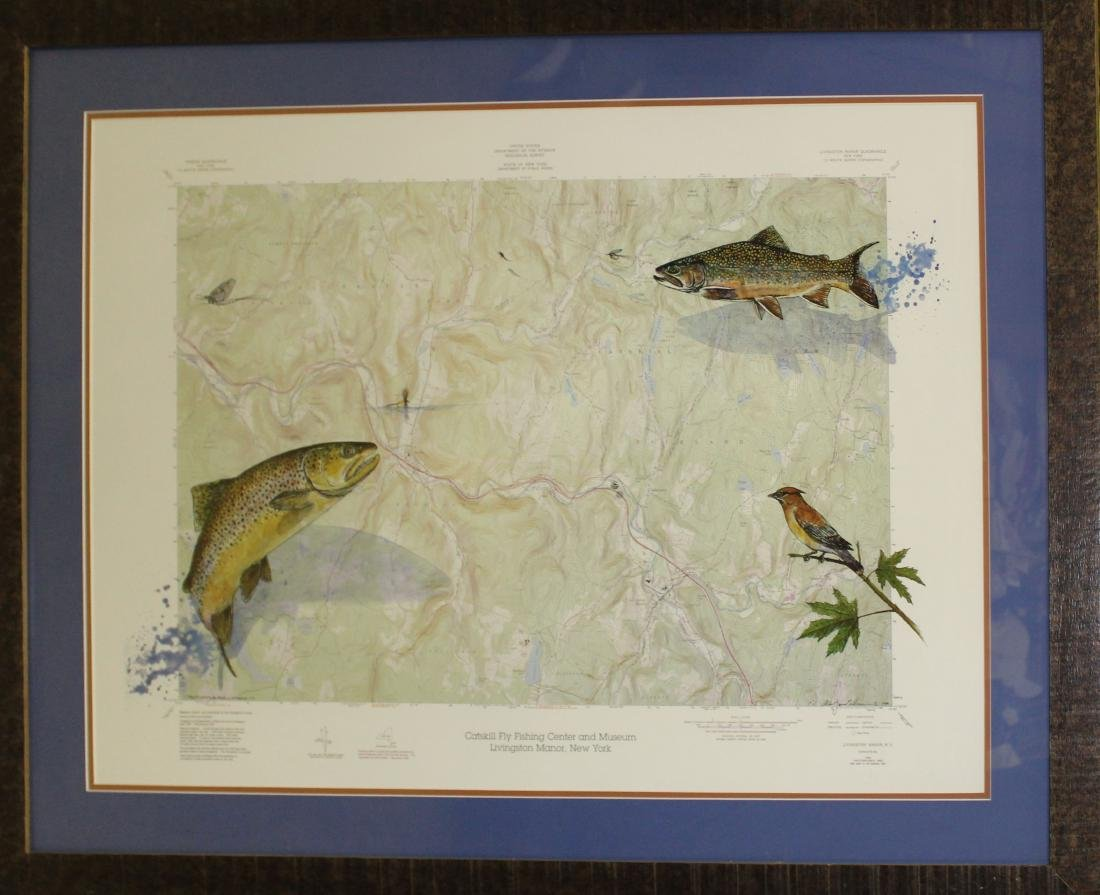 Catskill Fly fishing center and Museum Map