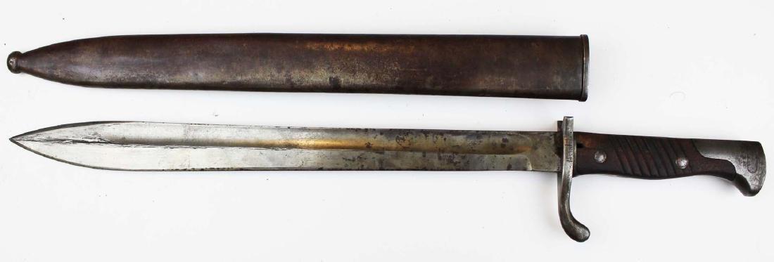 German WWI M98 butcher bayonet