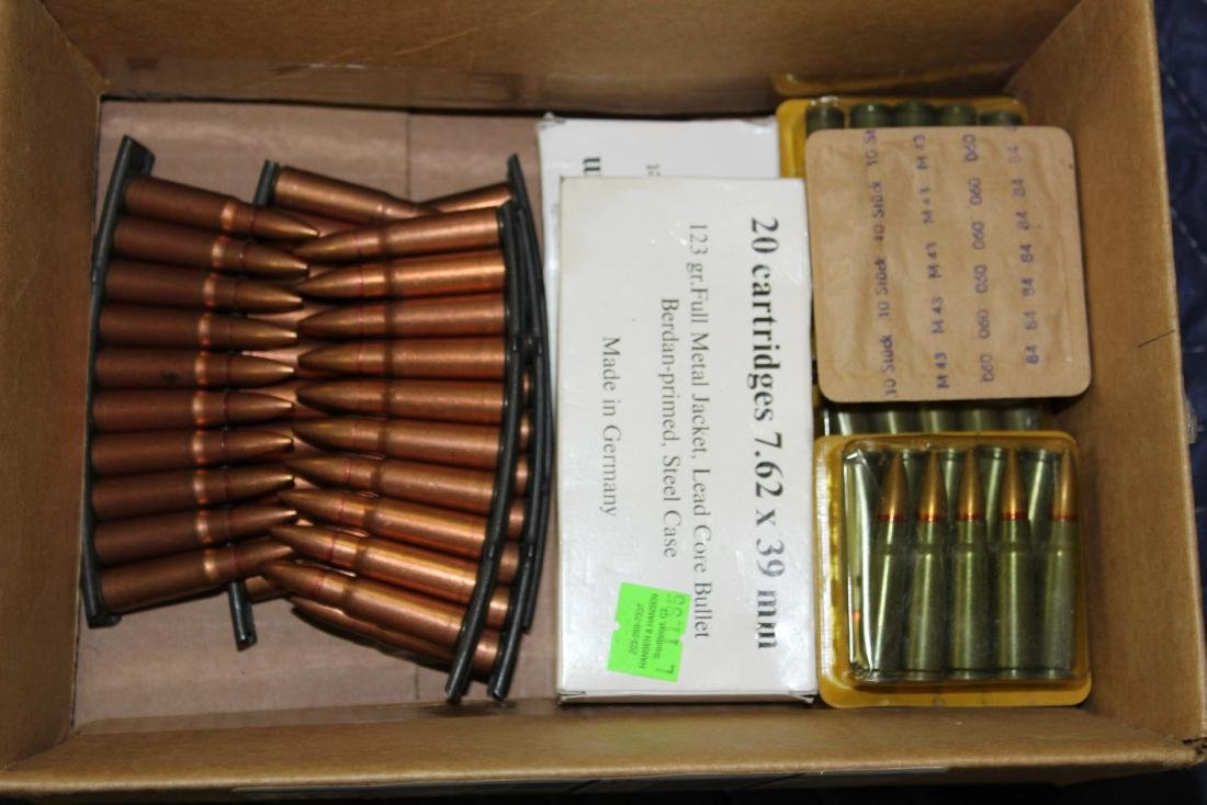 160 Rounds of 7.62 x 39 Ammo