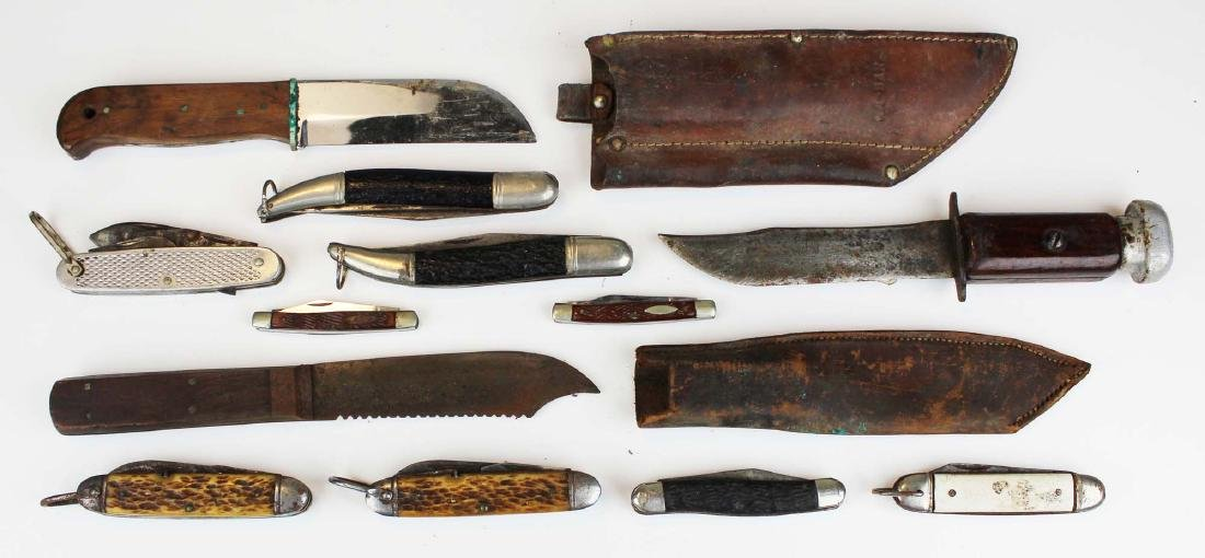 vintage pocket & sheath knives