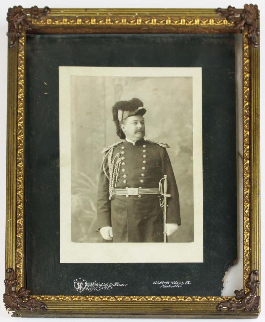 1897 Nashville, TN veteran officer photo
