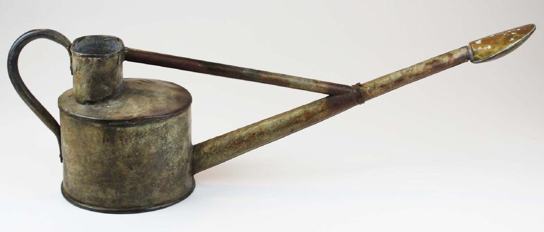 Antique Haws Genuine galvanized watering can