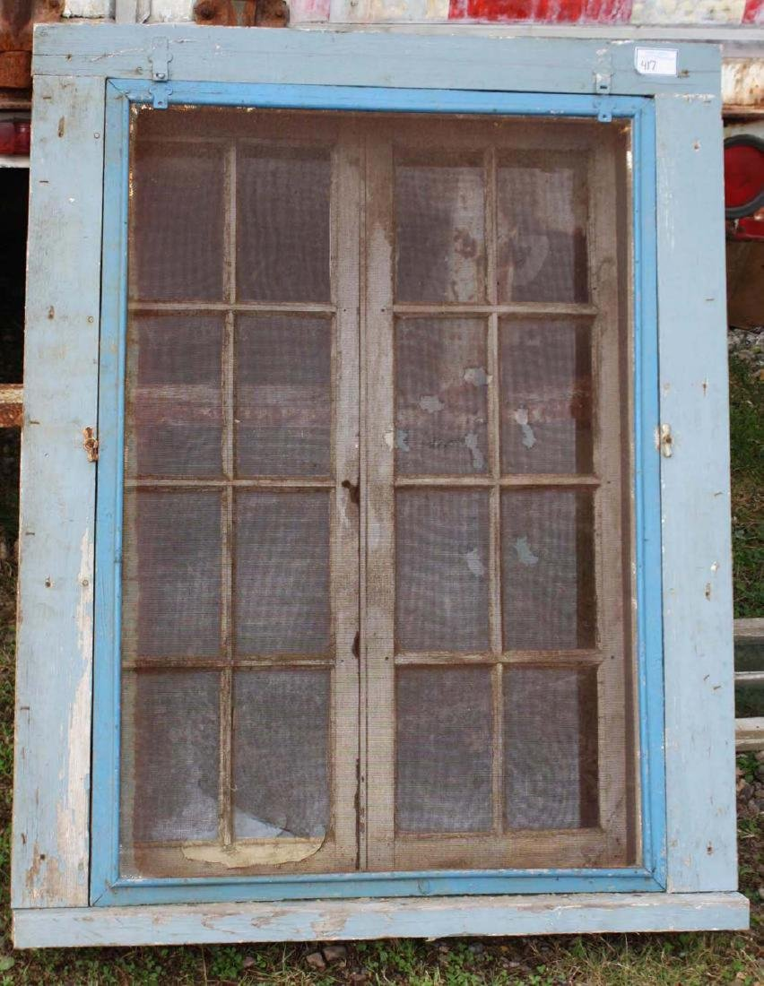 Vintage French casement  camp window