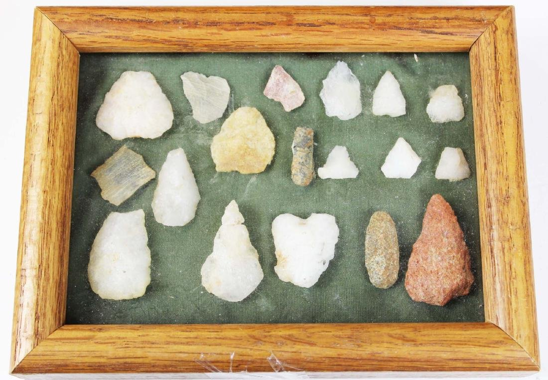 Prehistoric Native American lithic points - 2