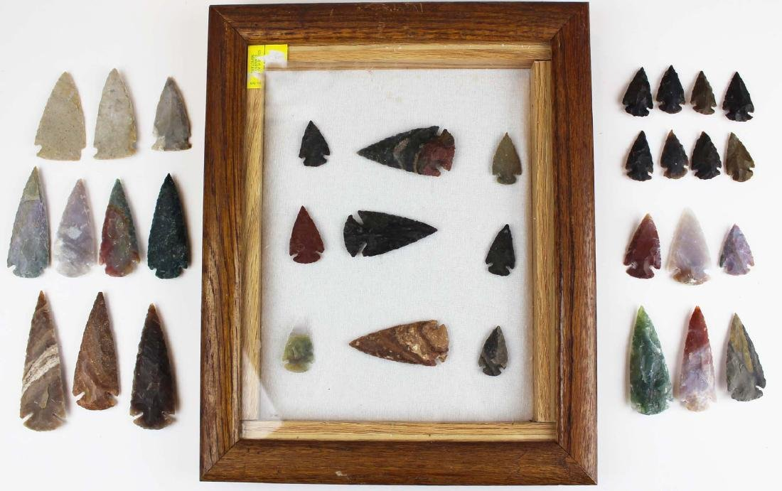 well-crafted contemporary arrowheads