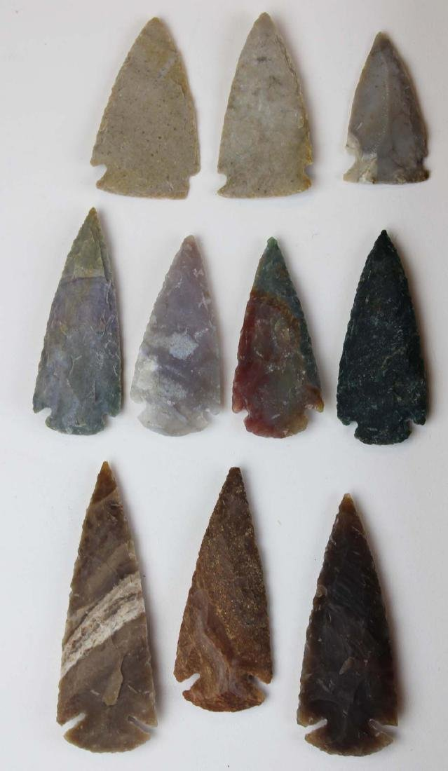 well-crafted contemporary arrowheads - 2