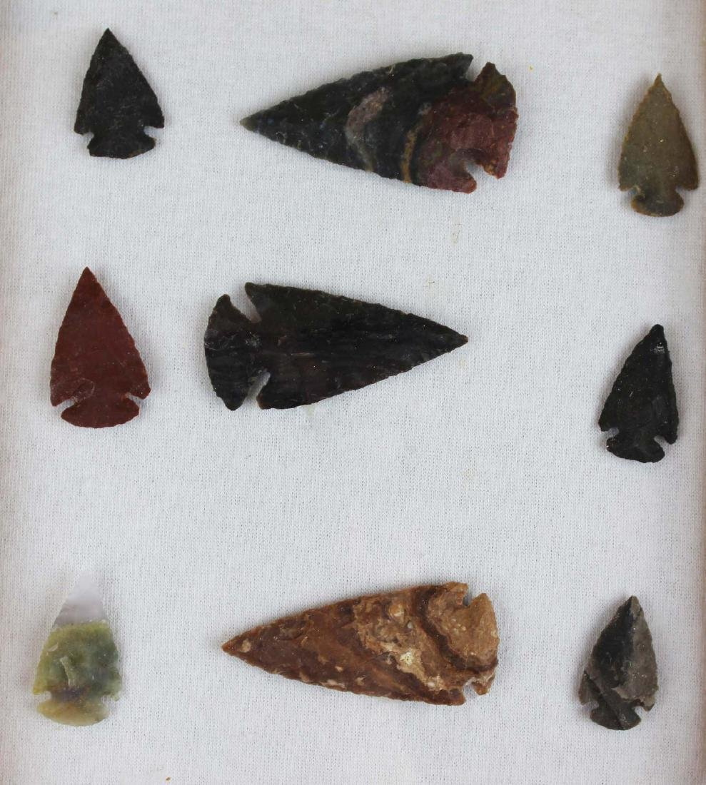 well-crafted contemporary arrowheads - 3