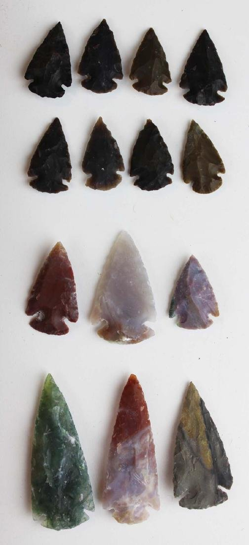 well-crafted contemporary arrowheads - 4
