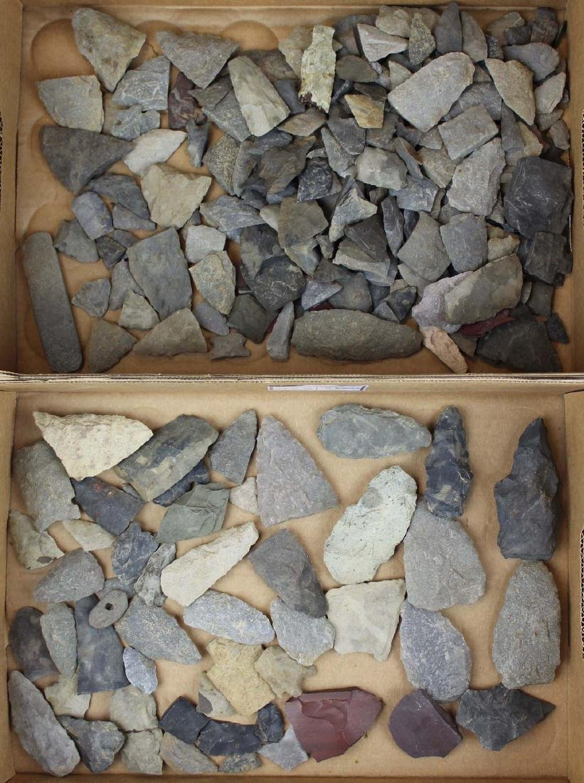 Vermont Prehistoric lithic artifacts