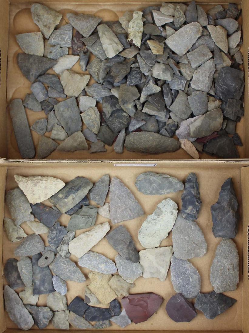 Vermont Prehistoric lithic artifacts