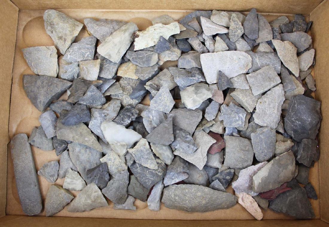 Vermont Prehistoric lithic artifacts - 3
