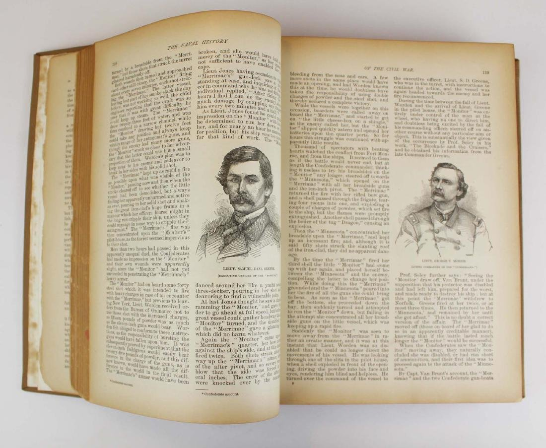 1886 Naval History of the Civil War by Porter - 4