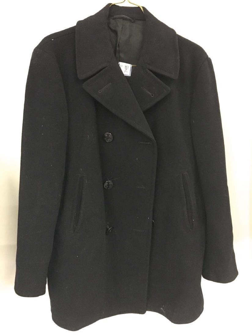 Vintage Navy pecoat.